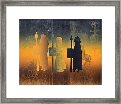 Holy Ground Framed Print by Gloria Wallington