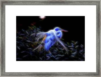 Holy Guardian Angel Framed Print by William Horden