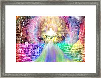 Holy Holy Holy Framed Print by Dolores Develde