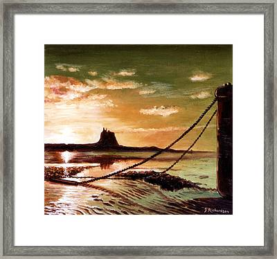 Holy Island Framed Print by James Richardson