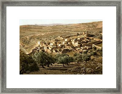 Holy Land - Bethany  Framed Print
