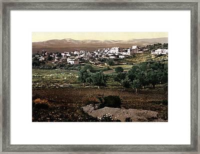 Holy Land - Jenin Framed Print