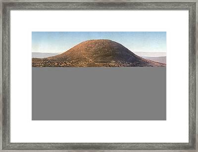 Holy Land - Mount Tabor Framed Print