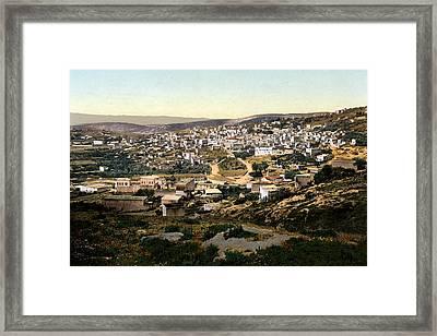 Holy Land - Nazareth Framed Print