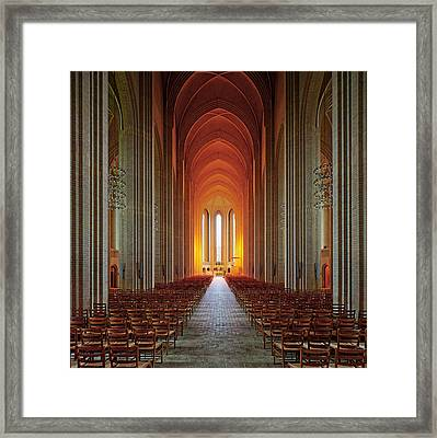Holy Light Framed Print