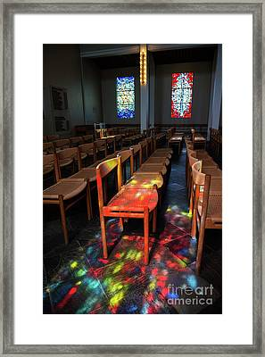 Holy Light.. Framed Print by Nina Stavlund