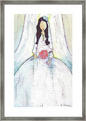 Holy Mama Framed Print