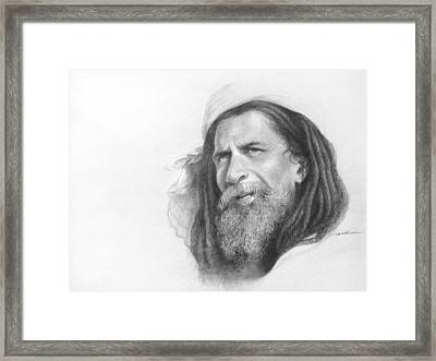 Holy Man Of India Framed Print by Arti Chauhan
