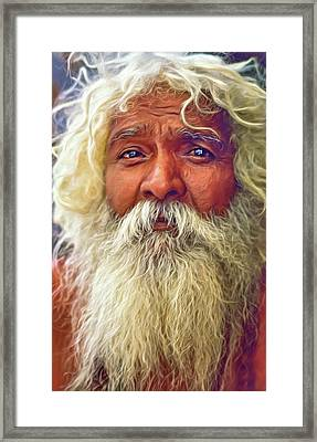 Holy Man - Such A Long Journey - Paint Framed Print
