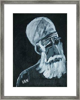 Holy Man Framed Print by Van Winslow