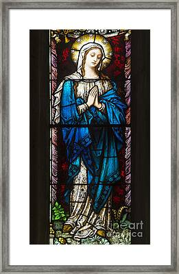 Holy Mother Framed Print