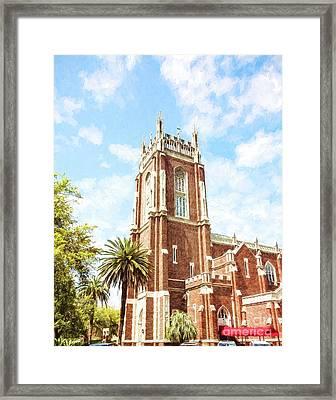 Holy Name Of Jesus Church - St. Charles Ave. Framed Print