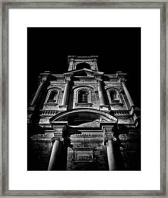 Holy Name Parish No 71 Gough Ave Toronto Canada Framed Print