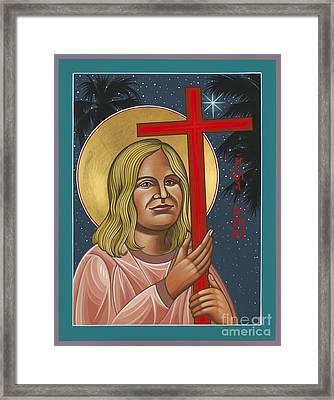 Holy New Martyr Jean Donovan 155 Framed Print