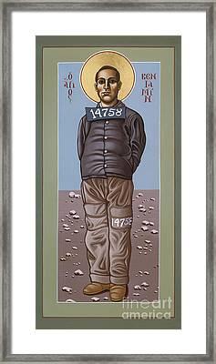 Holy Prophet Benjamin Salmon 083 Framed Print