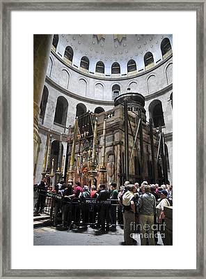 Holy Sepulchre  Framed Print