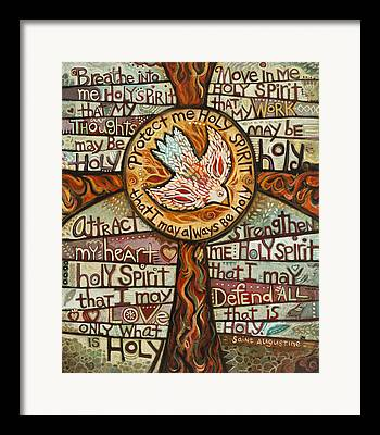 Holy Spirit Framed Prints