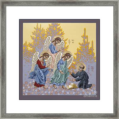 Holy Theologian Bernard Lonergan 122 Framed Print by William Hart McNichols