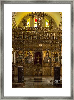 Holy Trinity Chapel Framed Print