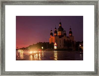 Holy Trinity Church Framed Print by Bryan Scott