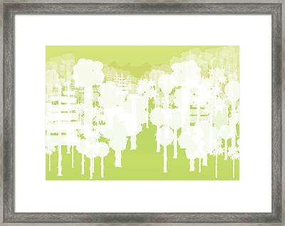 Framed Print featuring the digital art Holy Vale by Kevin McLaughlin
