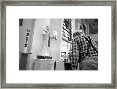 Framed Print featuring the photograph Holy Water by Jeanette O'Toole