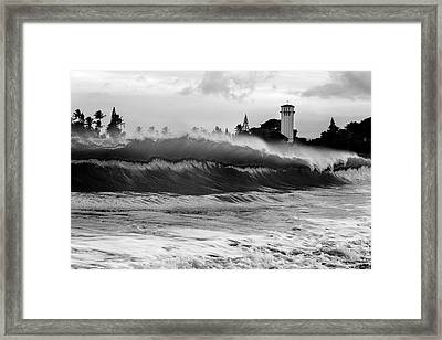 Holy Water Framed Print by Sean Davey