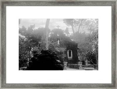 Holy Waters Framed Print by David Lee Thompson