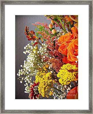 Framed Print featuring the photograph Holy Week Flowers 2017 2 by Sarah Loft