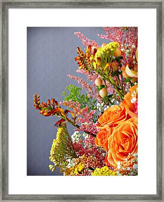 Framed Print featuring the photograph Holy Week Flowers 2017 3 by Sarah Loft