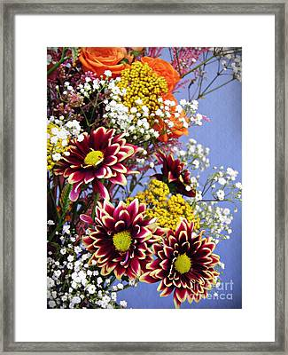 Framed Print featuring the photograph Holy Week Flowers 2017 4 by Sarah Loft
