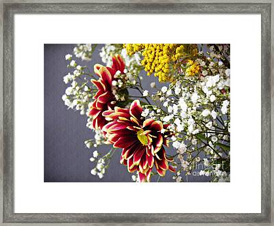 Framed Print featuring the photograph Holy Week Flowers 2017 5 by Sarah Loft