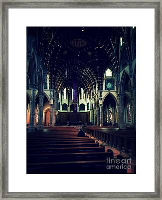 Holy Week Framed Print