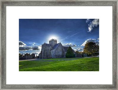 Holycross Halo Framed Print