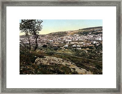 Holyland - Nazareth Framed Print