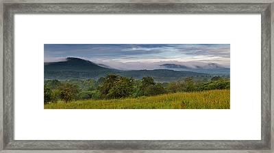 Holyoke Range From Mount Pollux Framed Print