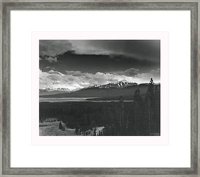 Homage To Ansel Framed Print by Jim Furrer