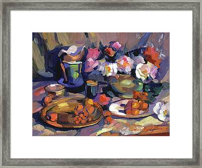 Homage To Cezanne Framed Print