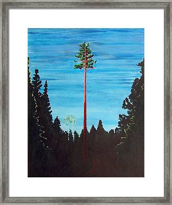 Homage To Emily Carr Framed Print