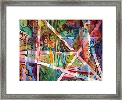 Homage To George Gershwin Framed Print by Mindy Newman