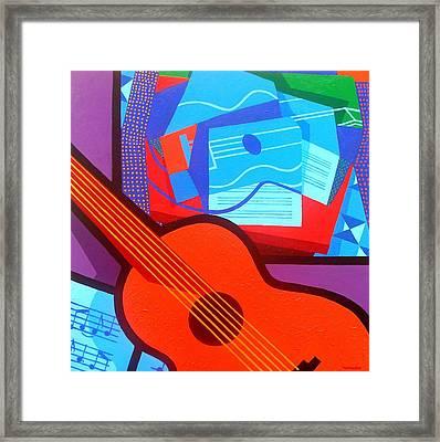 Homage To Juan Gris Framed Print