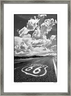 Homage  To Lee Friedlander Framed Print