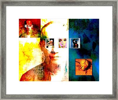 Homage To Richard Prince Framed Print by Ann Tracy