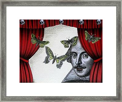 To Sleep Perchance To Dream Framed Print