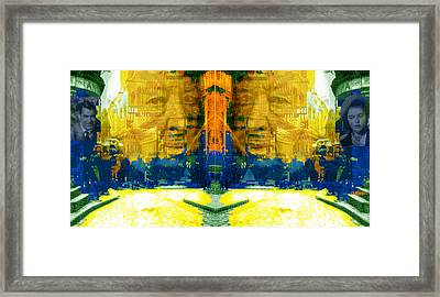 Homage To Sir Alfred Framed Print by Seth Weaver