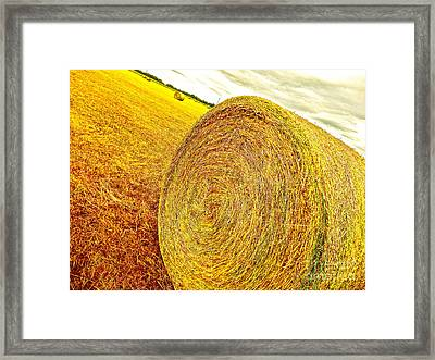 Homage To Van Gogh Framed Print by Chuck Taylor