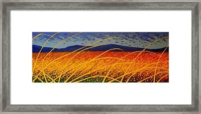 Homage To Van Gogh Framed Print by John  Nolan