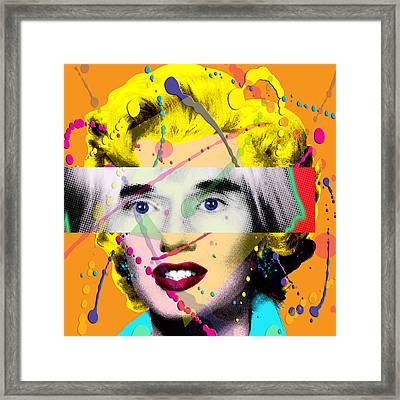 Homage To Warhol Framed Print by Gary Grayson