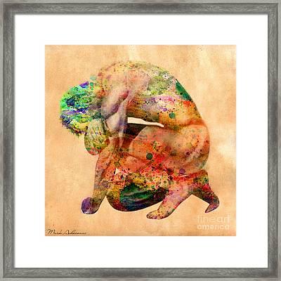 Hombre Triste Framed Print