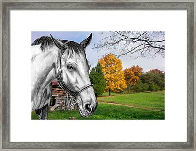 Home Again Framed Print by Russ  Smith